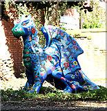 TM0890 : Gloria the Garden Dragon by Evelyn Simak
