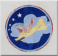 TM0288 : Insignia of the 337th Bomb Squadron, 96th Bomb Group by Evelyn Simak