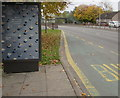 ST3089 : Pension Wise advert on a Malpas Road bus shelter, Newport by Jaggery