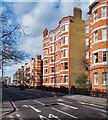 TQ2478 : Mansion flats, Warwick Road, London SW5 by Jim Osley