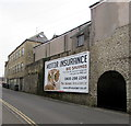 ST7747 : Vicarage Street advert, Frome by Jaggery