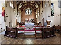 TQ2273 : St Joseph, Roehampton Lane, Roehampton, SW15 - Chancel by John Salmon