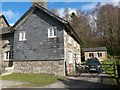 SN9962 : Argoed Mill: the old post office by Chris Downer