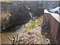 SE1510 : New Mill Dike - Luke Lane by Betty Longbottom