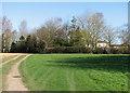 TL5358 : Near Hawk Mill Farm in mid March by John Sutton