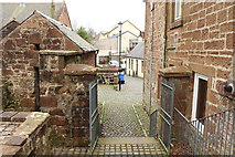 NS4927 : Rear Exit from Mauchline Parish Church by Billy McCrorie