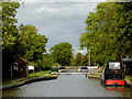 SK3409 : Ashby Canal terminus near Snarestone Leicestershire by Roger  Kidd