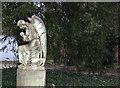 SU8985 : Holy Trinity Churchyard angel by Robert Eva