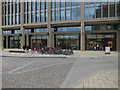 TL4657 : Piazza outside Cambridge Station by Hugh Venables