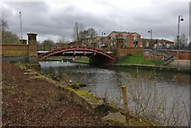 SK5803 : Mill Lane Bridge crossing the River Soar by Mat Fascione