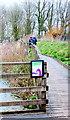 TQ0107 : Boardwalk at Arundel Wetlands Centre by PAUL FARMER