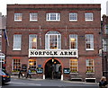 TQ0107 : Norfolk Arms, Arundel by PAUL FARMER