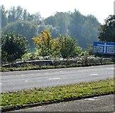 ST0207 : Junction 28 slip road, M5 by N Chadwick