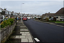 SS8178 : West Park Drive, Porthcawl by Jaggery