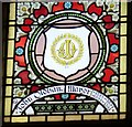SJ9494 : Mayoral Window: John Oldham by Gerald England