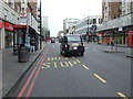 TQ2781 : Bus stop and shelter on Edgware Road (A5) by JThomas