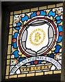 SJ9494 : Mayoral Window: John Blackwell by Gerald England
