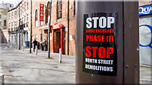 J3374 : Protest sticker, Belfast by Rossographer
