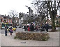 SP4540 : Ride a cock horse - Banbury, Oxfordshire by Martin Richard Phelan