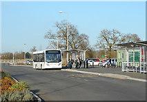 SU7167 : Mereoak Park & Ride by Des Blenkinsopp