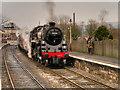 SD7916 : Ramsbottom Station Platform 1 by David Dixon