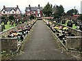 SJ6966 : Middlewich Cemetery by Jonathan Hutchins