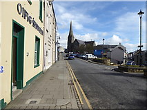 H4472 : James Street, Omagh by Kenneth  Allen