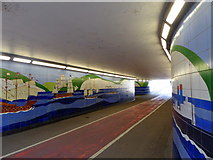 TR3241 : Underpass, Dover by pam fray