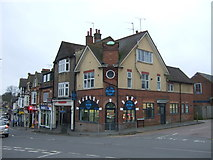 TL1314 : Shops on Station Road (B652). Harpenden by JThomas