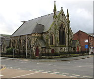 SO1091 : United Reformed Church, Newtown by Jaggery