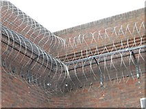 SU7273 : Razor Wire by Bill Nicholls