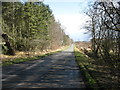 NY4134 : The lane to Johnby and Greystoke by David Purchase
