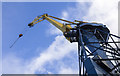J3676 : Henson crane, Belfast Dry Dock by Rossographer