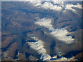 NY2407 : Borrowdale Fells from the air by Thomas Nugent