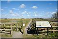 NZ5025 : Footpath to Greatham Creek by Trevor Littlewood