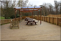 NS2209 : Picnic Area in the Play Fort at Culzean Country Park by Billy McCrorie