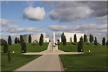 SK1814 : The Main War Memorial by Malcolm Neal