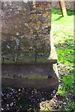 SP2907 : Benchmark on St Britius' Church by Roger Templeman