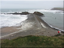 SS2006 : Breakwater at Bude Haven by Gareth James