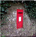ST7848 : Ivy-fringed postbox in a Berkley Road wall, Frome by Jaggery
