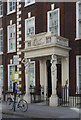 TQ2980 : Porch with half caryatid columns, Schomberg House, Pall Mall by Julian Osley