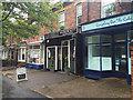 SP2965 : Three shops on Emscote Road, Portobello, east Warwick by Robin Stott