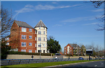 SO9097 : Apartments by Penn Road, Wolverhampton by Roger  Kidd