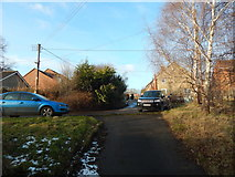 SK9224 : Looking onto Newton Way by Hamish Griffin