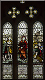 TA1181 : Fishermen's window, St Oswald's church, Filey by Julian P Guffogg