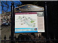 TL8683 : Welcome To Thetford sign by Hamish Griffin