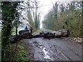 SE9725 : No through road on Brickyard Lane by Graham Hogg