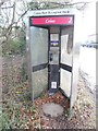 SP9408 : Former KX300 Telephone Kiosk in Chesham Road, Wigginton by David Hillas