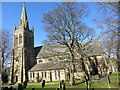 NY7146 : The Church of St Augustine in Alston by Peter Wood