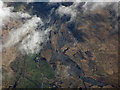 NS6324 : Opencast coal mines at Boghead from the air by Thomas Nugent